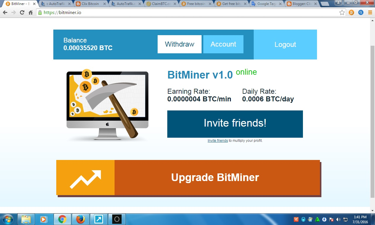 Clix Bitcoin: Bitcoin Miner Free