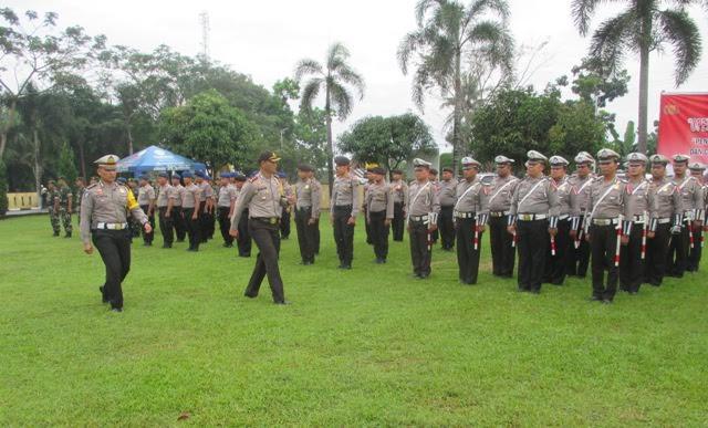 Polres Sergai Gelar Pasukan Ops Liong Toba Amankan Imlek