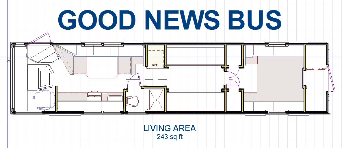 Good News Bus BUS LIFE Bus Floor Plan