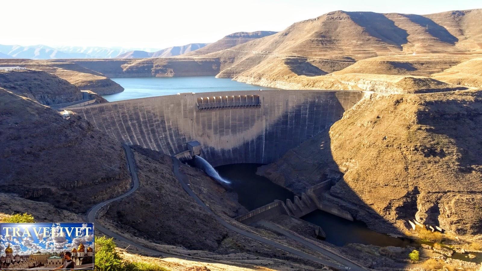 Lesotho Katse Dam Barrage