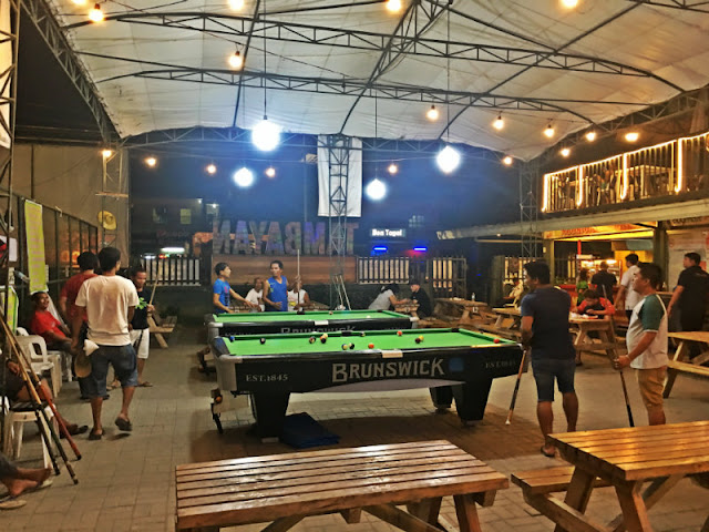 Billiards at Tambayan sa Lacion Food Park - Consolacion, Cebu