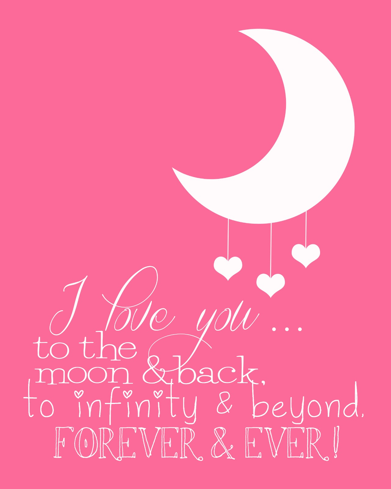 I Love You To The Moon And Back: Funky Polkadot Giraffe: I Love You To The Moon And Back