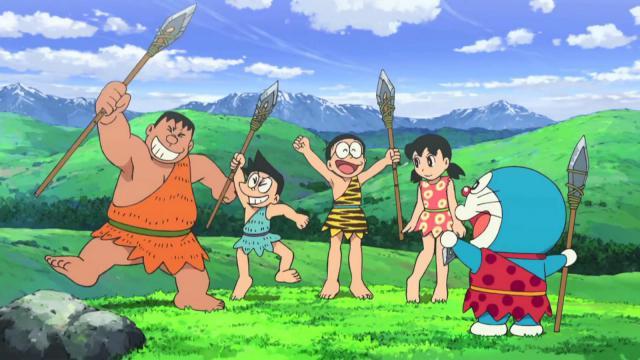 Doraemon Nước Nhật Thời Nguyên Thủy