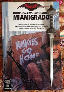 Portada del libro Miamigrado, de Jerry y Sharon Ahern