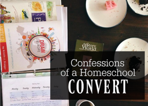 Confessions of a Homeschool Convert