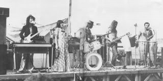 Mammal in 1973 L to R Tony Backhouse, Julie Needham, Kerry Jacobsen, Mark Hornibrook, Robert Taylor and Rick Bryant.