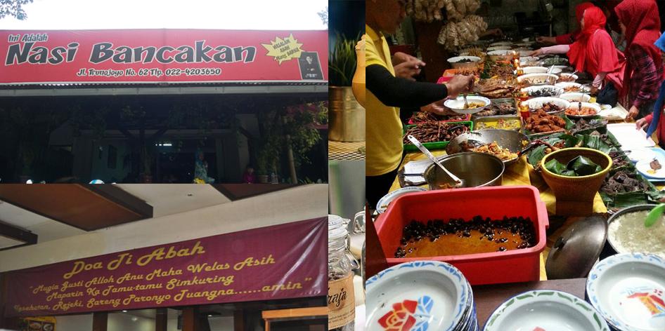 Nasi Bancakan Jln Trunojoyo Bandung
