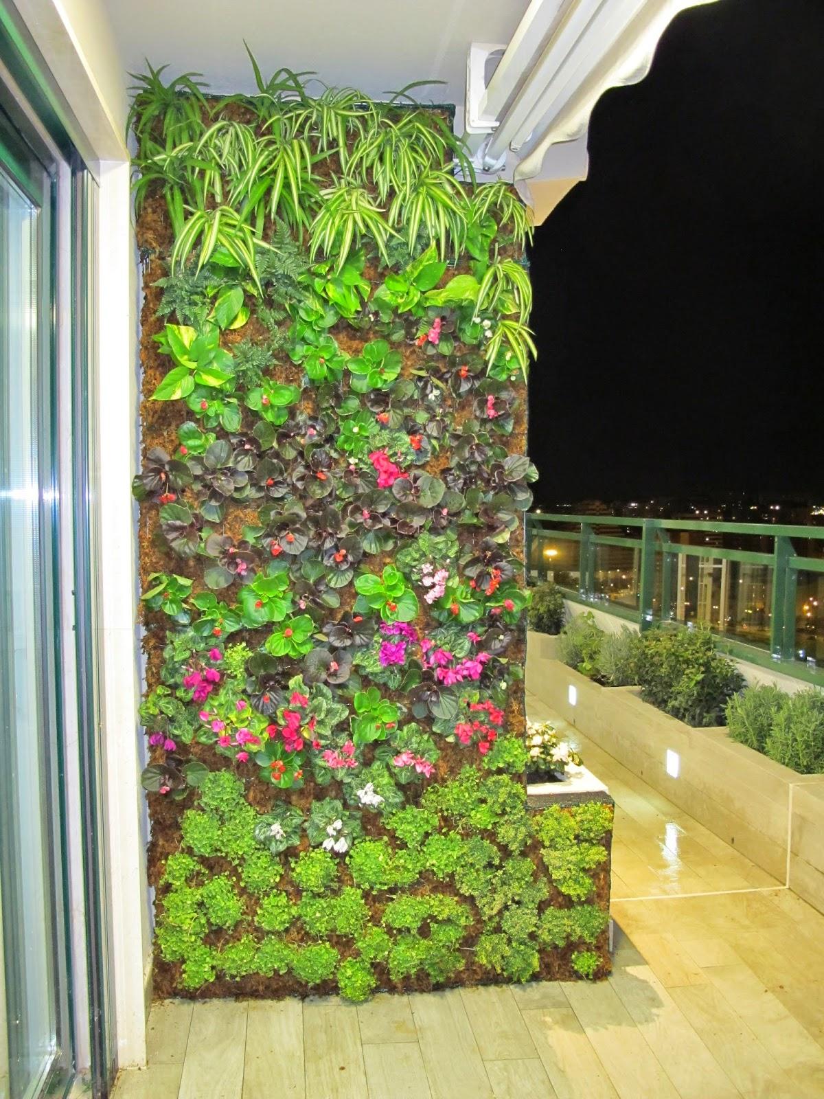 Kit De Jardín Vertical Para Exteriores : Jardines