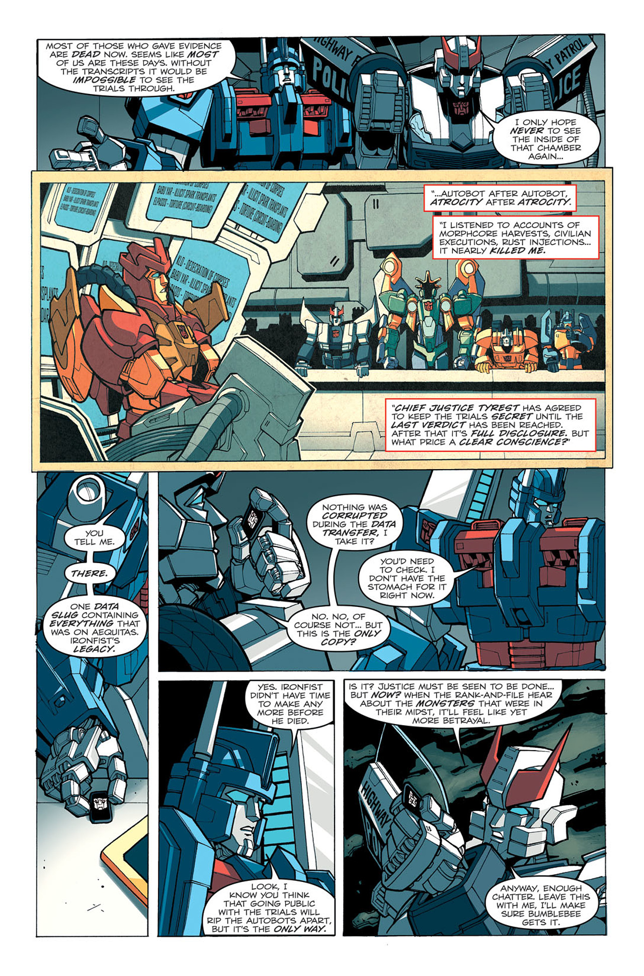 Read online Transformers: Last Stand of The Wreckers comic -  Issue #5 - 24