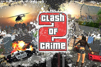 Download Game Android Clash of crime 2 : Mad city war go Apk