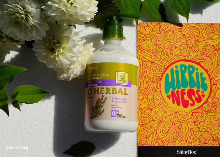 ShinyBox Hippieness - O'Herbal Relaksujący Balsam do ciała z ekstraktem z Lawendy