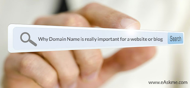 Why Domain Name is really important for a website or blog : eAskme
