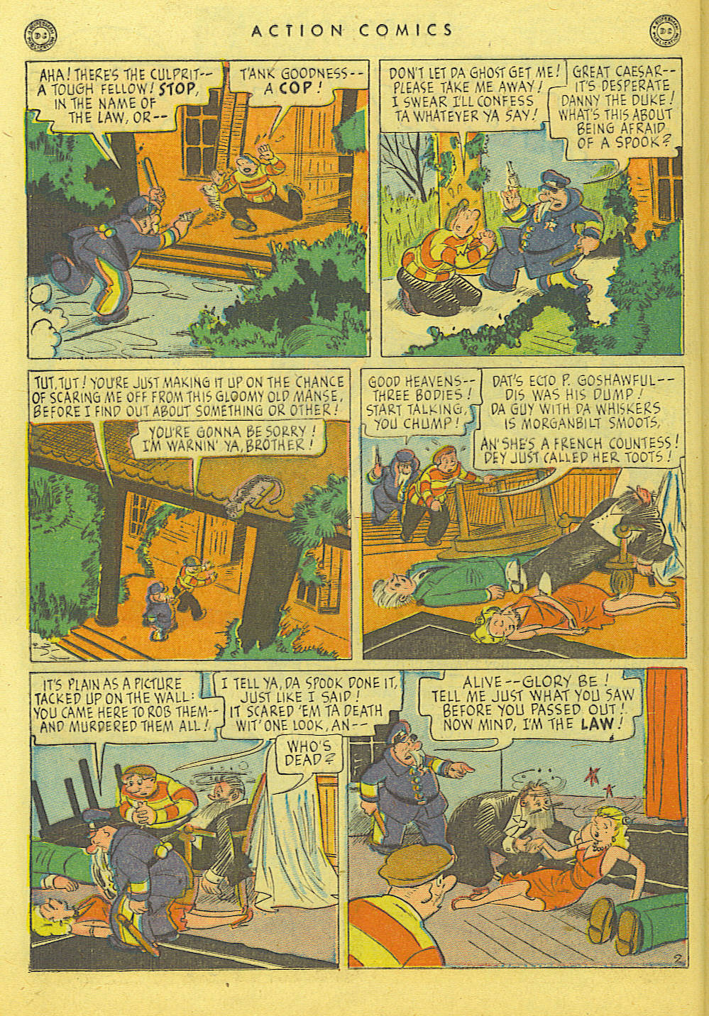 Read online Action Comics (1938) comic -  Issue #114 - 34