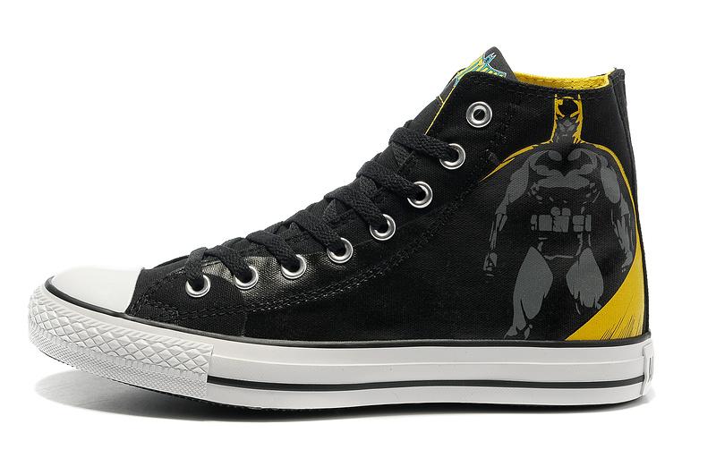 6799e7224259b Nike Dunks Custom Design Sneakers : High Top Batman Sneakers ...