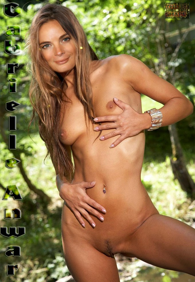 Nude photos of gabrielle anwar