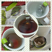 clip tea infuser collage