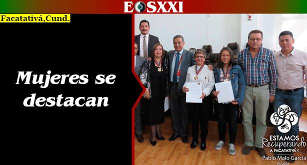 Mujeres destacadas en el ámbito académico fueron protagonistas en la entrega de reconocimientos del Concejo Municipal