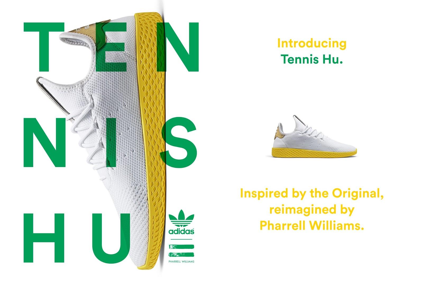 6a56638cf5b Swag Craze: First Look: adidas Originals | Pharrell | Tennis Hu
