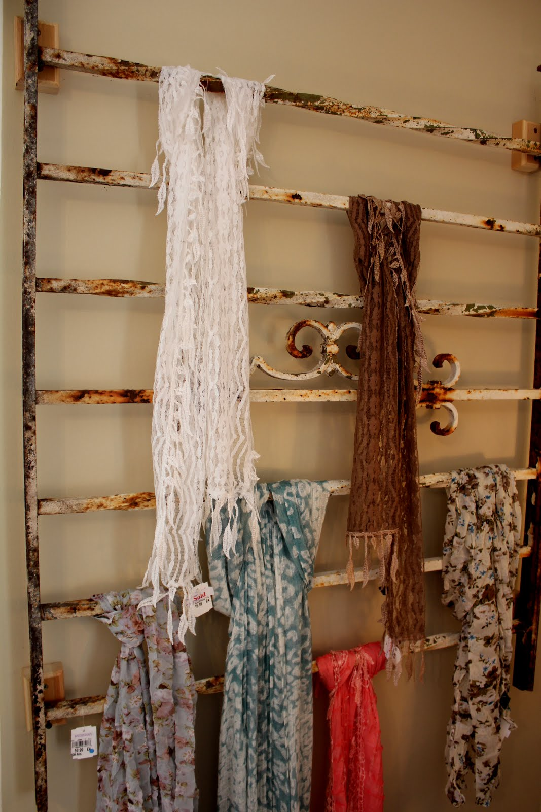 Scarf holder | For the Home | Pinterest