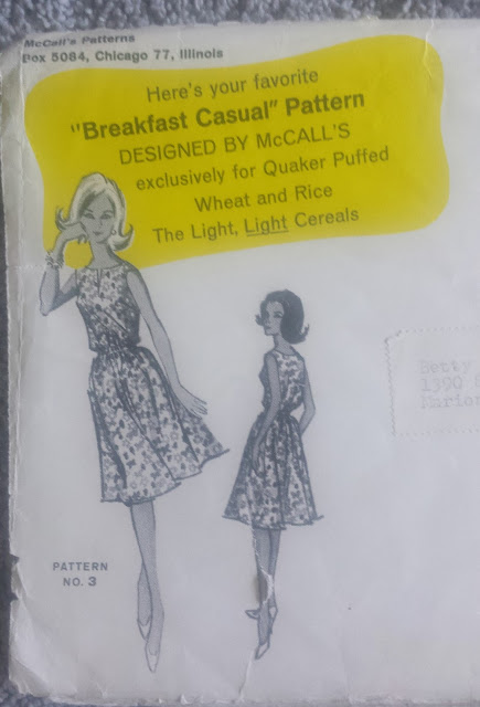 McCalls quaker oats pattern