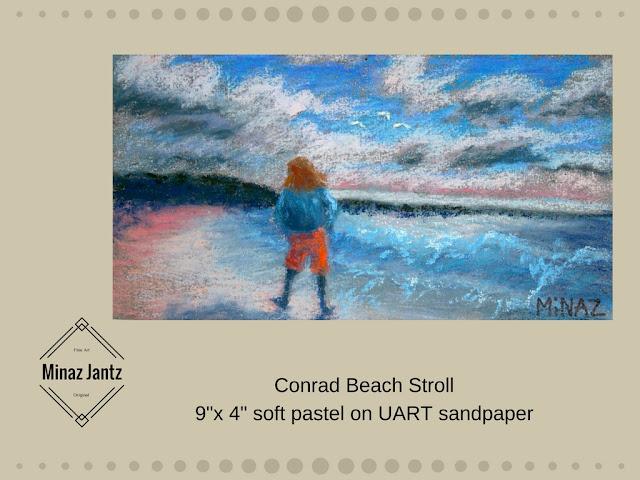 Conrad Beach Stroll by Minaz Jantz