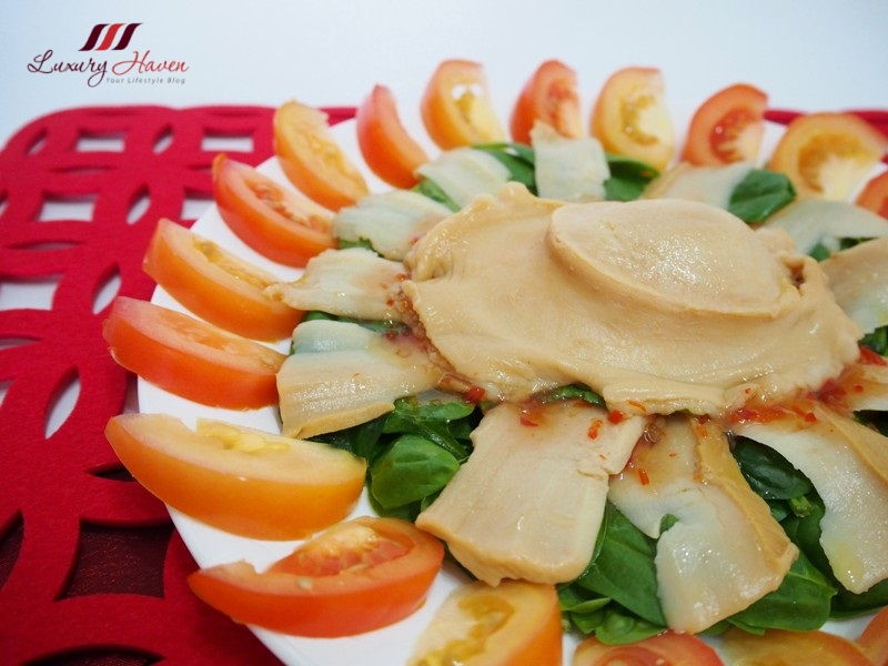 chinese new year hockhua tiger king abalone salad
