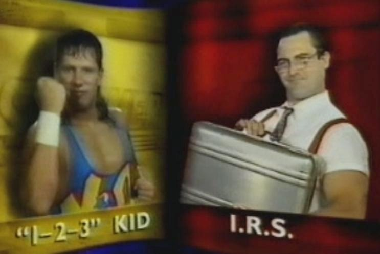 WWF / WWE SUMMERSLAM 1993: 123 Kid vs. I.R.S
