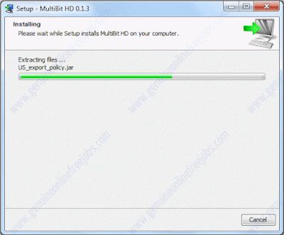 Installation HD multibit