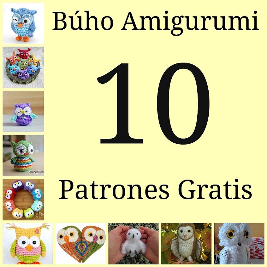 Crochet Snowy Baby Owl (com imagens) | Amigurumi de croche ... | 855x855