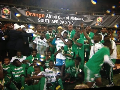 champion of africa nigeria