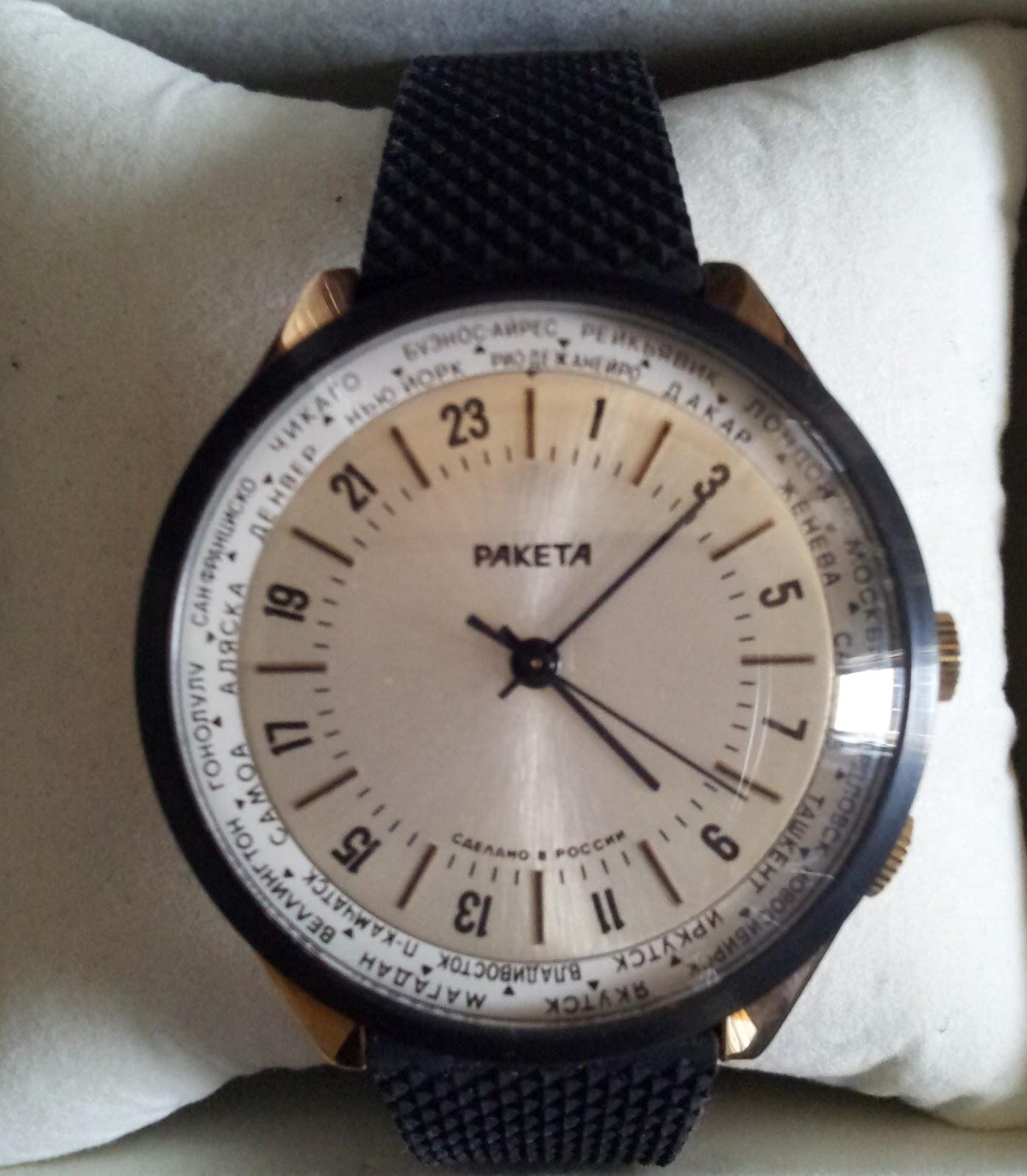 Soviet Russian Timepieces Poljot Raketa Vostok Raketa