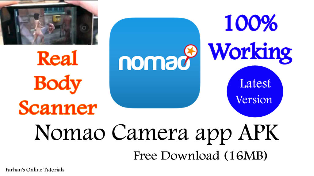Nomao Camera app APK Free Download (16MB) | Real Body