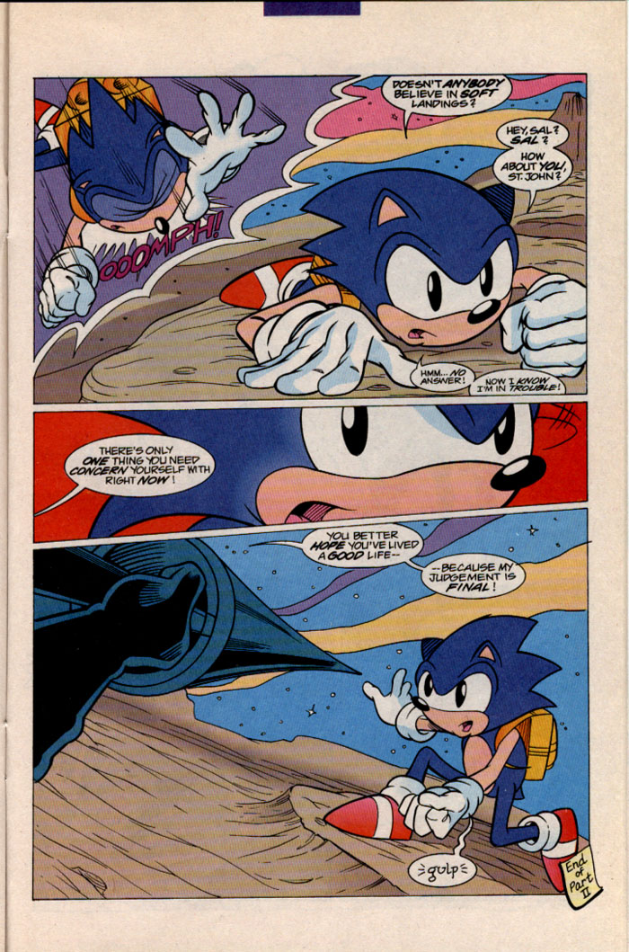 Read online Sonic The Hedgehog comic -  Issue #41 - 19