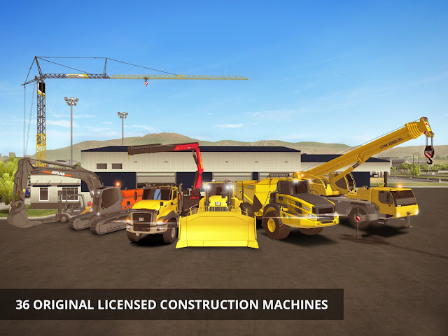 Download Construction Simulator 2 v1.03 Mod Apk+DATA