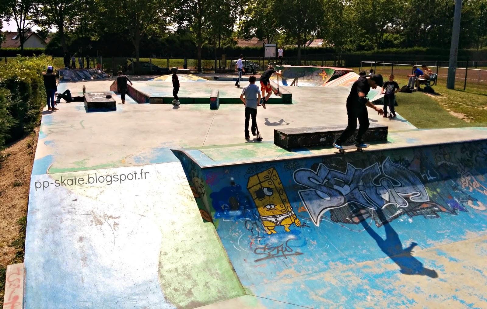 Skatepark Pontault Combault