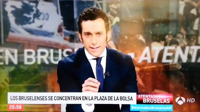 """Presentador de Antena 3 dio paso a """"los mejores momentos"""" del atentado"""