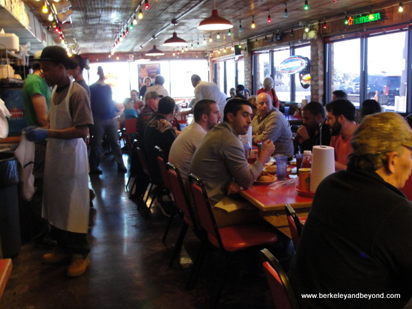 interior of Steamboat Bill's on the Lake In Lake Charles, LA