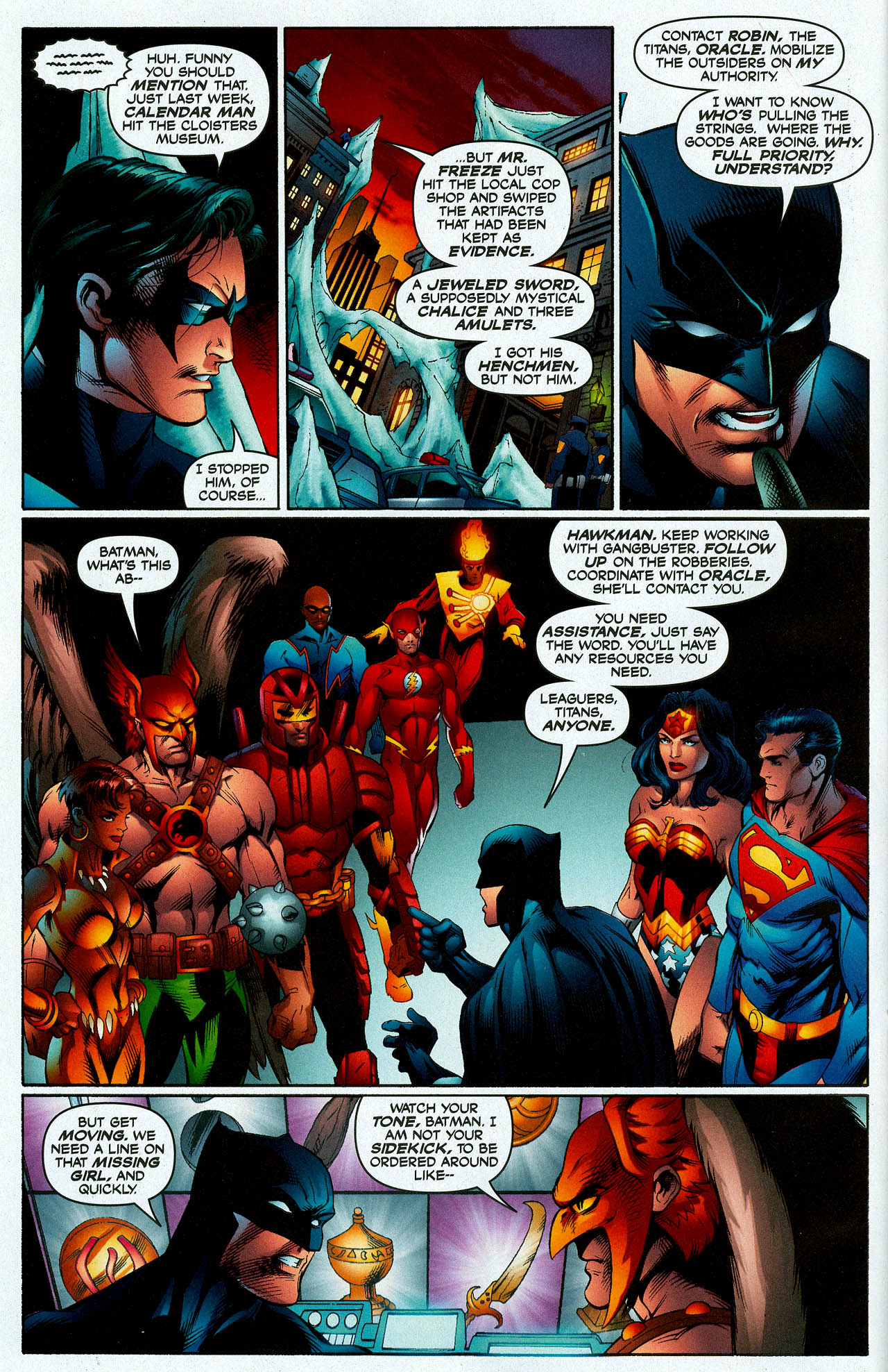 Read online Trinity (2008) comic -  Issue #7 - 13
