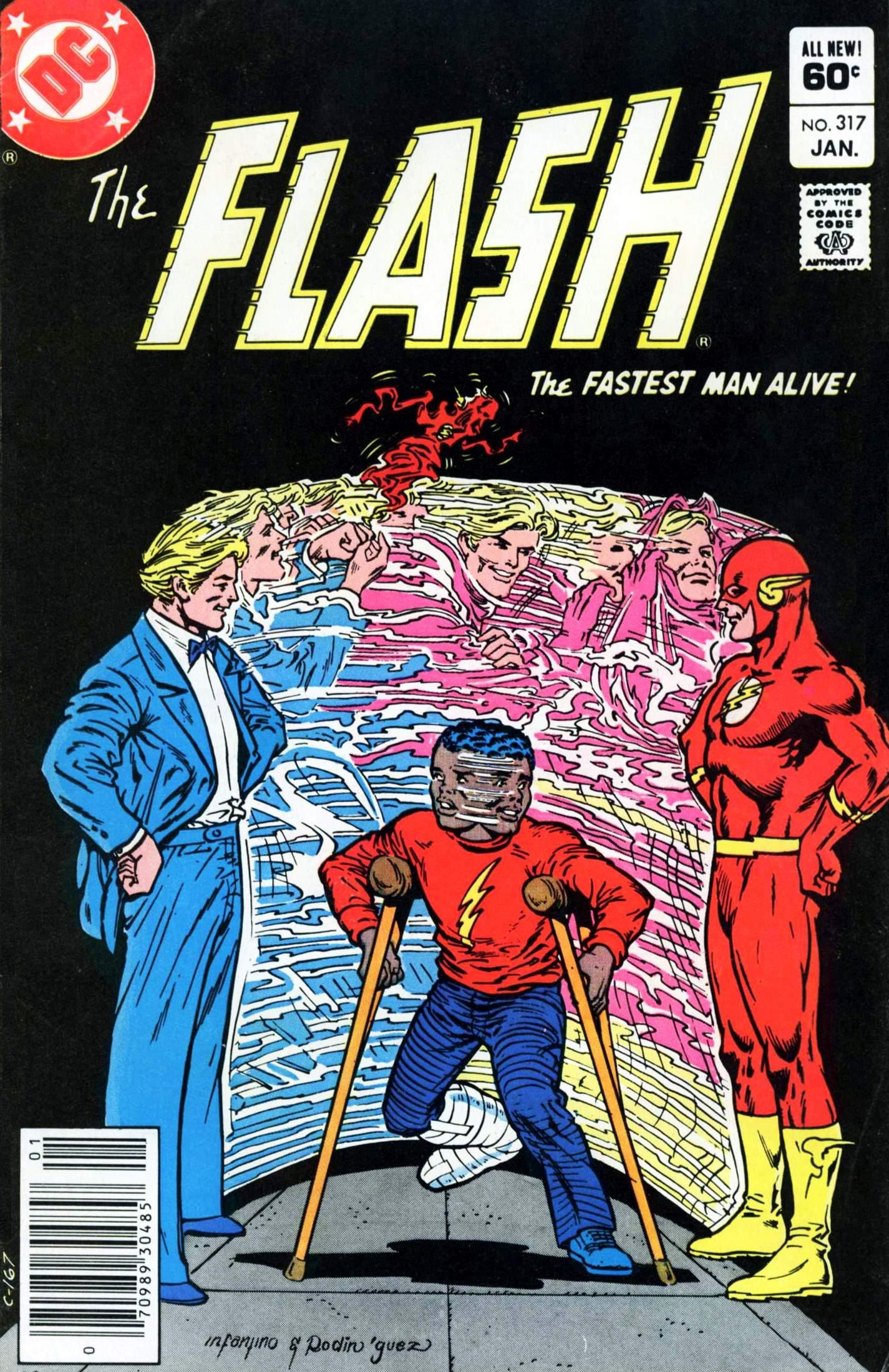 The Flash (1959) 317 Page 1