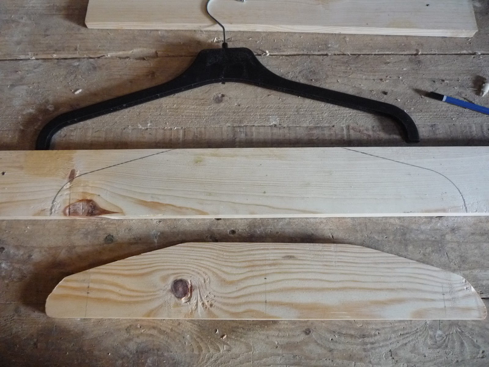 how to make a lever out of wood