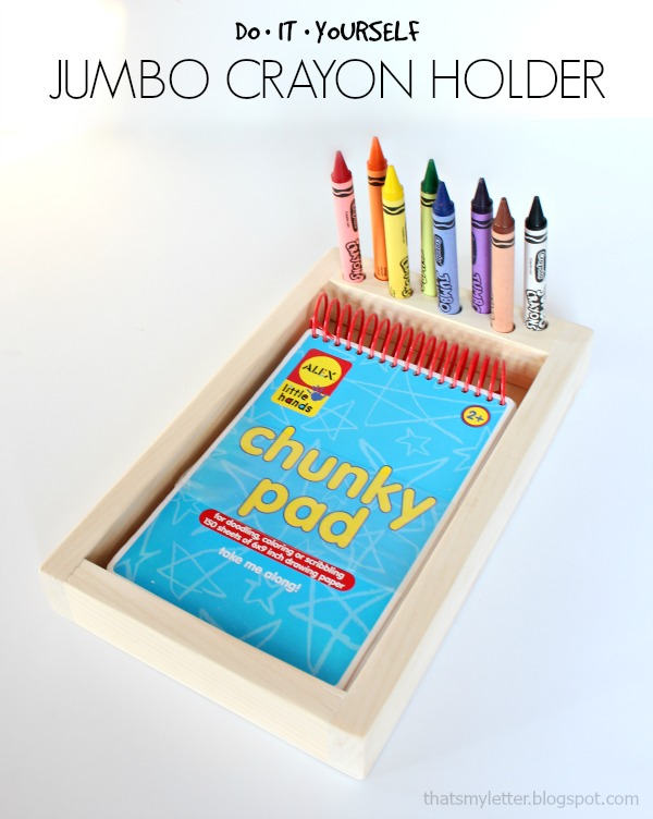 diy jumbo crayon holder