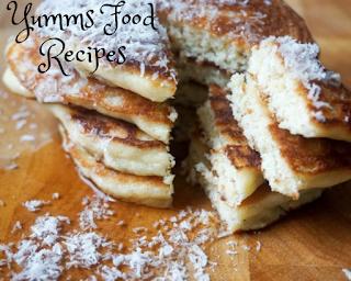 Low-carb Coconut Pancakes