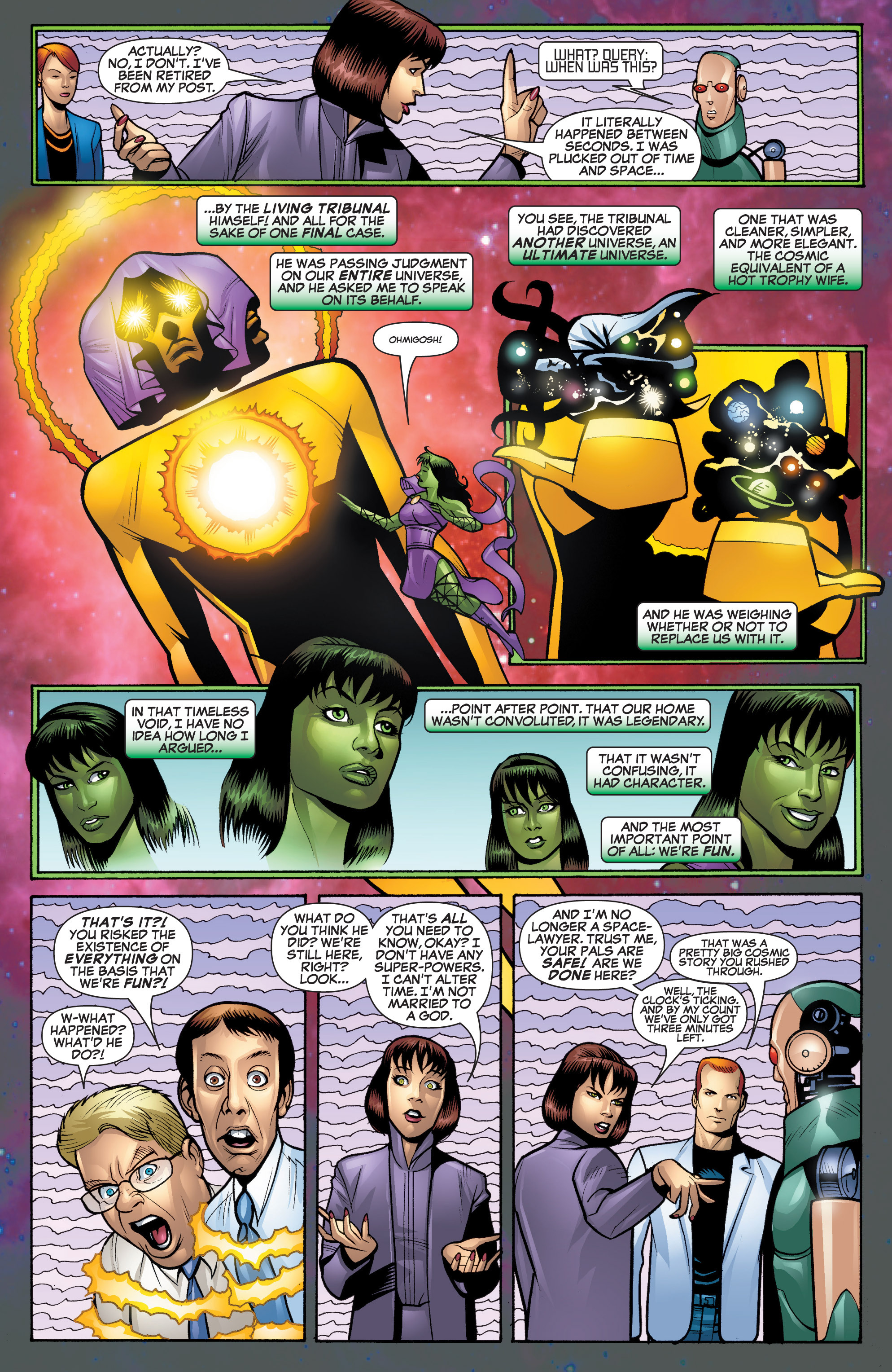 Read online She-Hulk (2005) comic -  Issue #20 - 21
