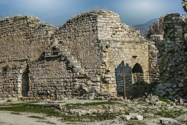 Murallas del castillo medieval de Hierápolis