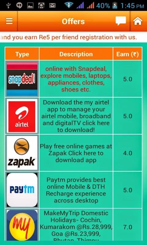 earn talktime recharge app