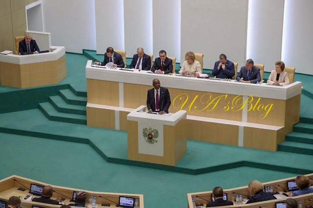 10 things Saraki said about Nigeria to Russian Parliament