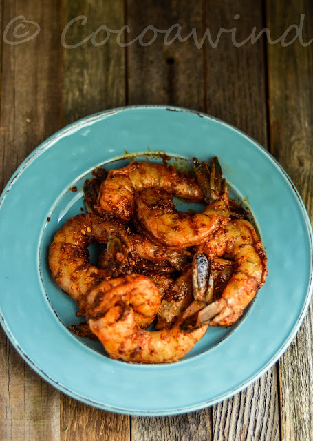 Easy Pan Fried Shrimps with Homemade Taco Seasoning: Cocoawind