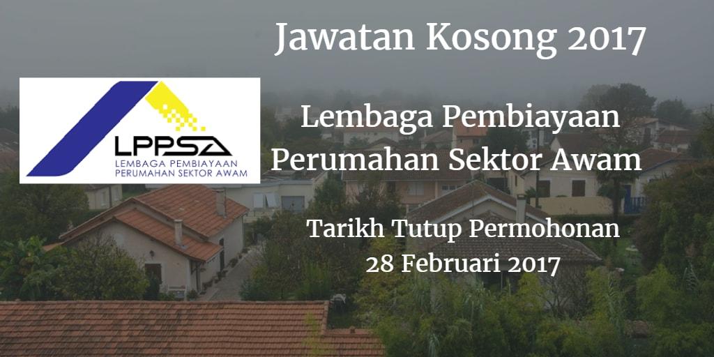 Jawatan Kosong KPPSA 28 Februari 2017