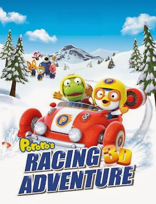 Poster Of Hollywood Film Pororo the Racing Adventure (2013) In 300MB Compressed Size PC Movie Free Download At worldfree4u.com