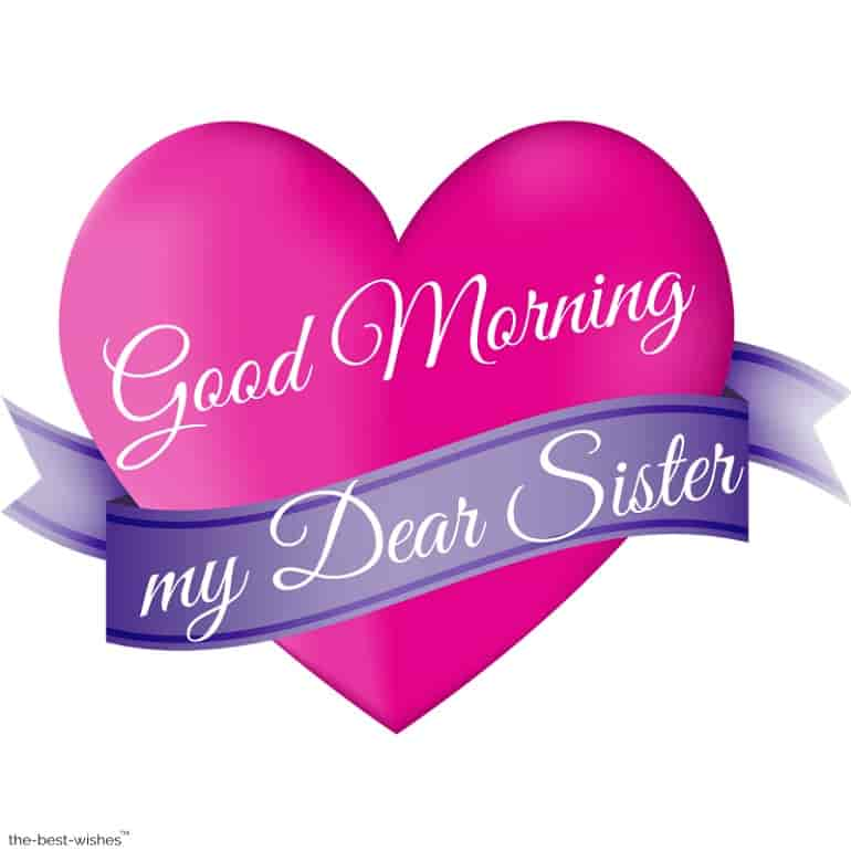 good morning dear sister images